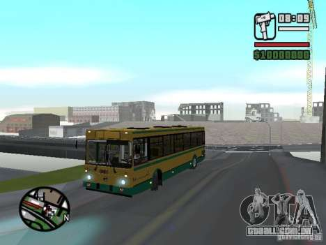 LIAZ 5283.01 para GTA San Andreas vista traseira