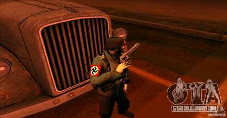 Soldados da Wehrmacht para GTA San Andreas por diante tela