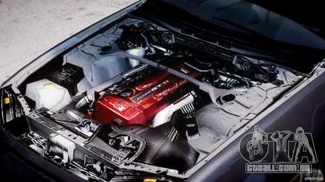 Nissan Skyline GT-R 34 V-Spec para GTA 4 vista lateral