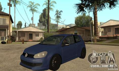 Volkswagen Golf Mk6 2010 para GTA San Andreas