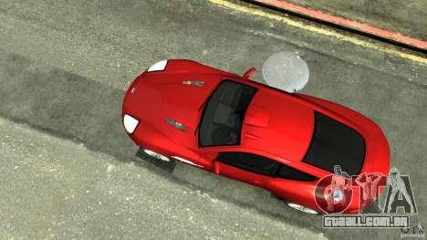 Aston Martin Vanquish S v 2.0 matizado para GTA 4 vista direita