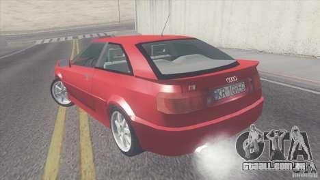 Audi S2 para GTA San Andreas esquerda vista