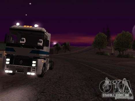 Renault Magnum Sommer Container para GTA San Andreas