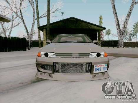 Nissan Skyline GTS-T para GTA San Andreas vista interior
