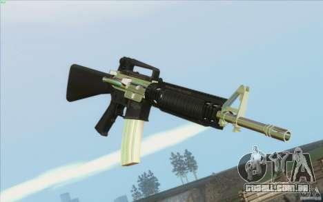 Low Chrome Weapon Pack para GTA San Andreas segunda tela
