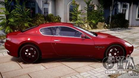 Maserati GranTurismo v1.0 para GTA 4 esquerda vista