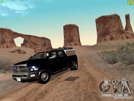 Dodge Ram 3500 Unmarked para GTA San Andreas esquerda vista