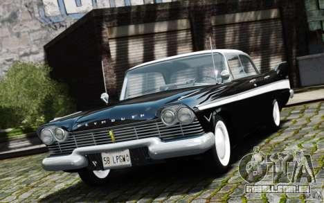 Plymouth Belvedere Sport Sedan 1957 para GTA 4