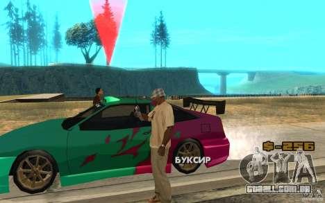 O slide mestre para GTA San Andreas segunda tela