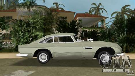 Aston Martin DB5 63-54 (JAMES BOND) para GTA Vice City deixou vista
