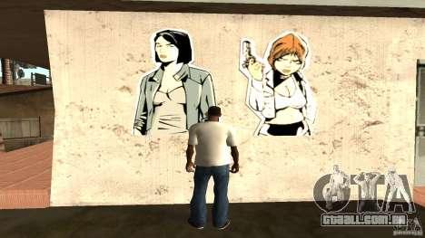 T-shirt que sim para GTA San Andreas segunda tela