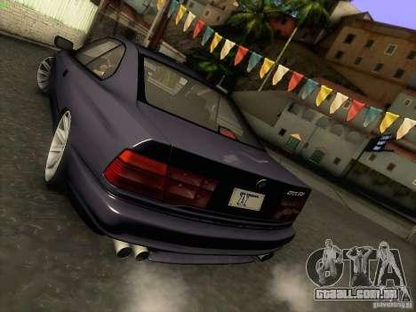 BMW 850 CSI para GTA San Andreas vista superior