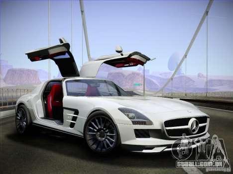 Mercedes-Benz SLS AMG para GTA San Andreas vista direita
