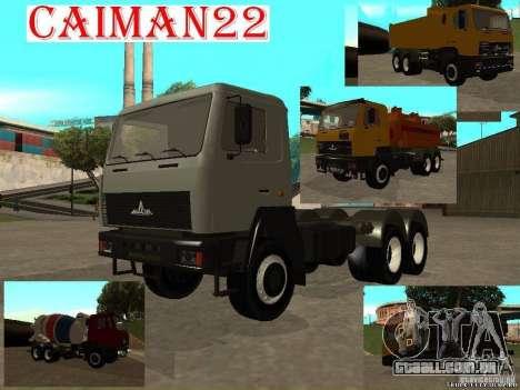 Super MAZ MAZ, 5551 para GTA San Andreas