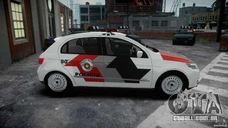 Volkswagen Gol G5 PMSP [ELS] para GTA 4 vista interior