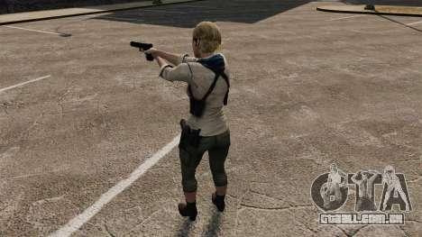 Sherry Birkin para GTA 4 quinto tela