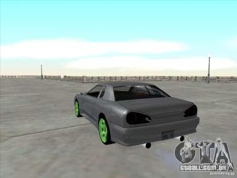 Elegy Full VT v1.2 para GTA San Andreas vista traseira