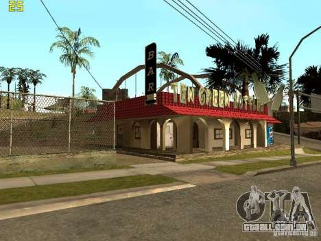 New Bar Ganton v.1.0 para GTA San Andreas segunda tela