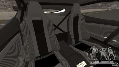 Alfa Romeo 8C Competizione Body Kit 1 para GTA 4 vista interior