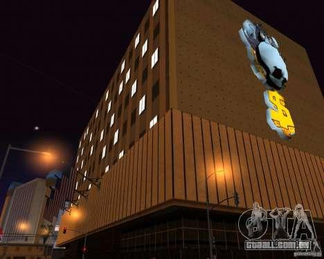 Real New Vegas v1 para GTA San Andreas sexta tela