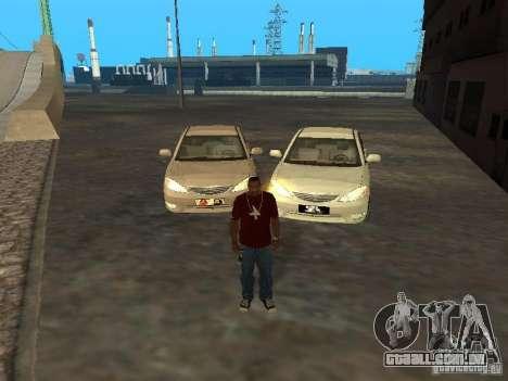 Toyota Camry 2003 para GTA San Andreas vista traseira