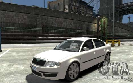 Skoda SuperB para GTA 4