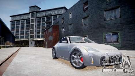 Nissan Fairlady 350Z para GTA 4 vista de volta