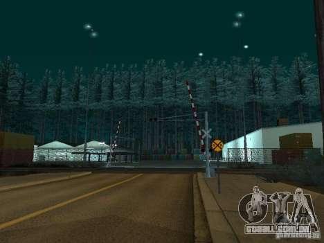 Floresta em Las Venturas para GTA San Andreas terceira tela