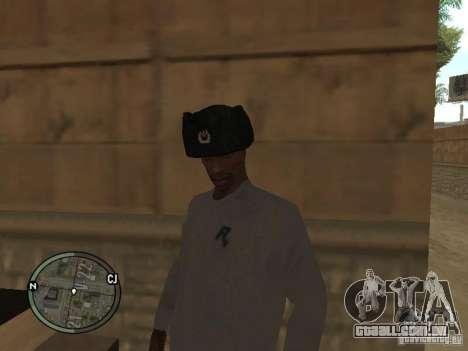 Ushanka para GTA San Andreas segunda tela