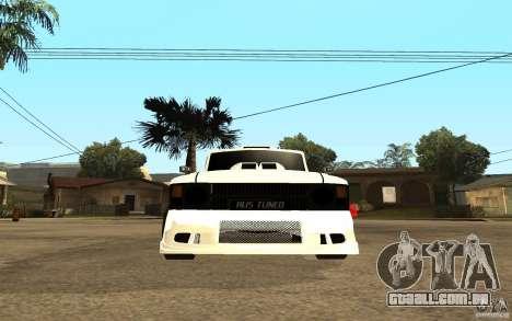 IZH 27151 para GTA San Andreas vista direita