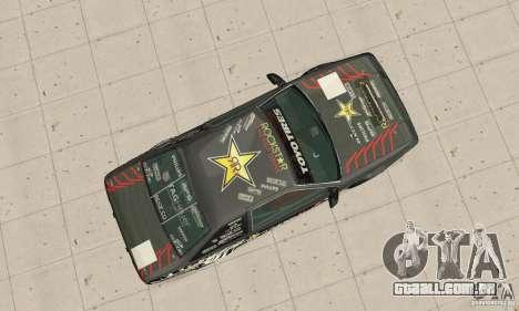 Toyota AE86wrt Rockstar para GTA San Andreas vista direita