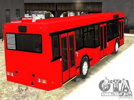 MAZ 5295 v 2.0 final para GTA 4 traseira esquerda vista