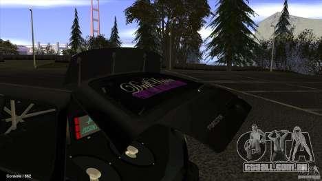 Subaru Forester Turbo 1998 para GTA San Andreas vista direita