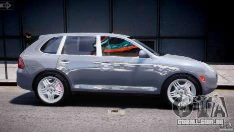 Porsche Cayenne 955 Turbo v1.0 para GTA 4 vista lateral