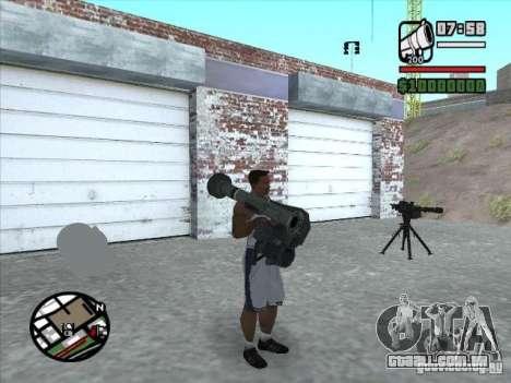 FGM-148 Dževlin para GTA San Andreas terceira tela