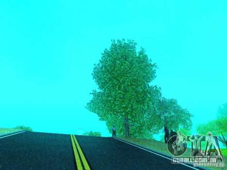 Novo Mod de cor para GTA San Andreas quinto tela