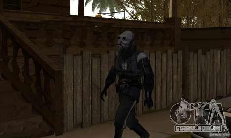 Alien para GTA San Andreas segunda tela