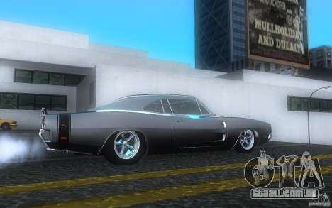 Dodge Charger RT 69 para GTA San Andreas vista direita