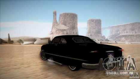 Ford Coupe Custom 1949 para GTA San Andreas vista direita