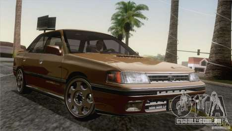 Subaru Legacy RS para GTA San Andreas interior