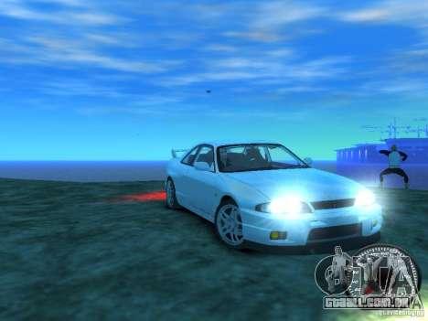Nissan Skyline GT-R V-Spec (R33) 1997 para GTA 4 vista de volta