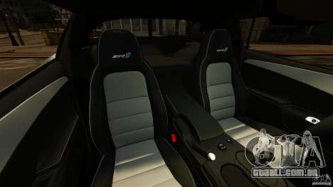 Chevrolet Corvette ZR1 Police para GTA 4 vista interior