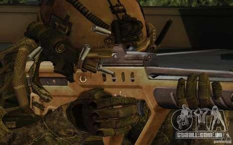 Tavor Tar-21 Desert para GTA San Andreas terceira tela