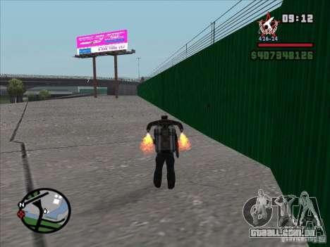Um novo aeroporto em San Fierro para GTA San Andreas terceira tela