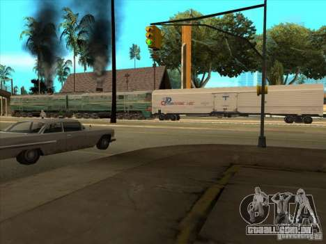 2te10v-3594 para GTA San Andreas vista traseira
