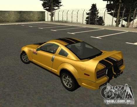 Road King from FlatOut 2 para GTA San Andreas esquerda vista