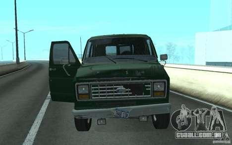 Ford E-150 Short Version v3 para GTA San Andreas