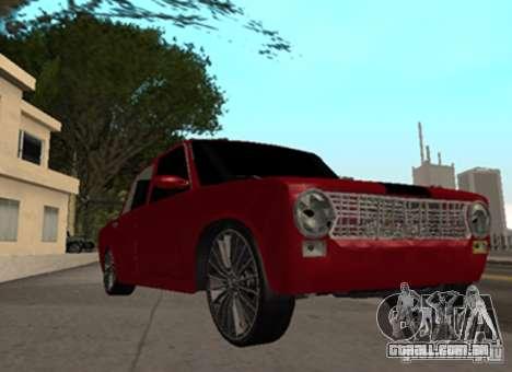 VAZ 2101 Drag para GTA San Andreas