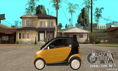 Smart para GTA San Andreas esquerda vista