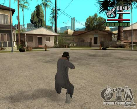MP5 AGOG para GTA San Andreas terceira tela